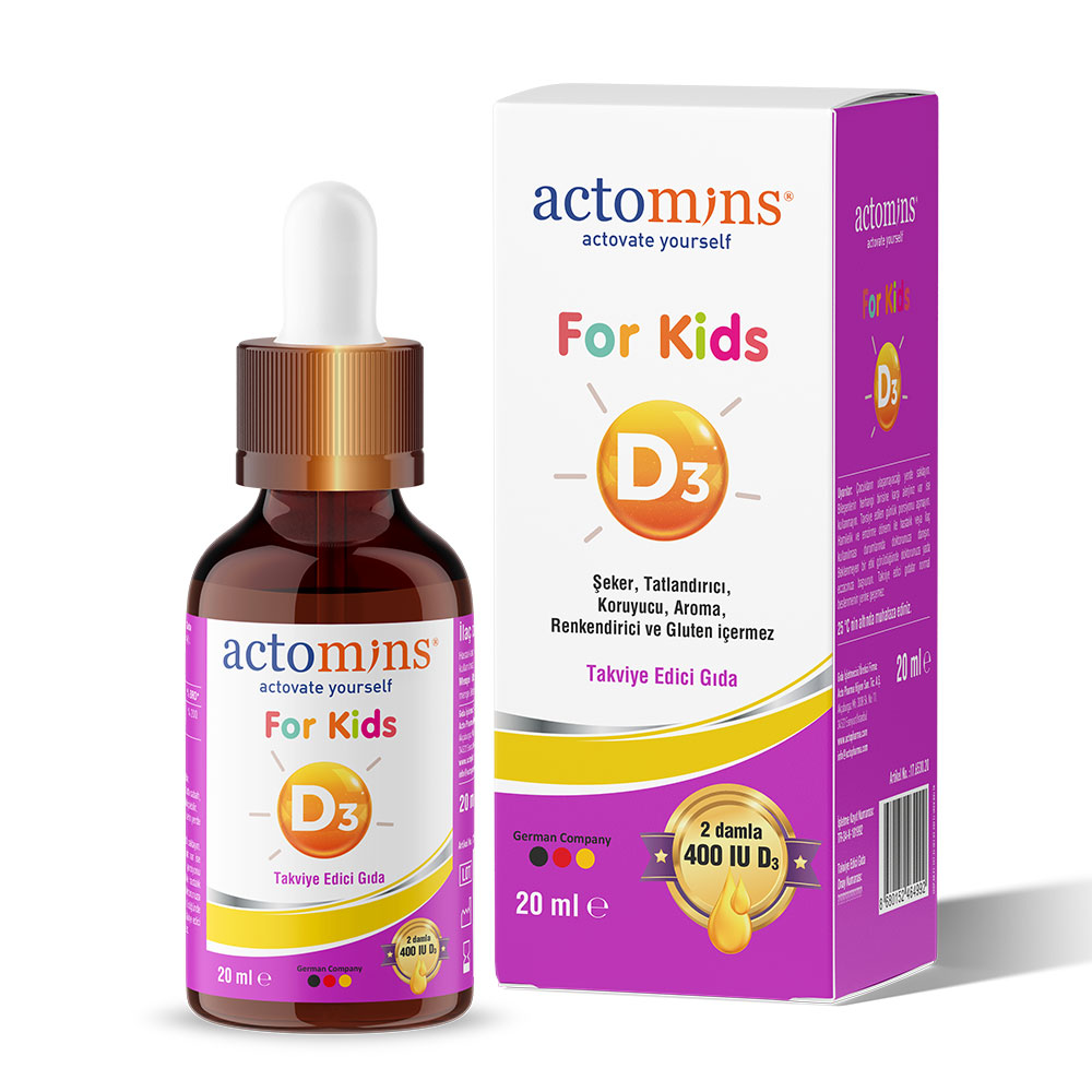 Actomins For Kids D3