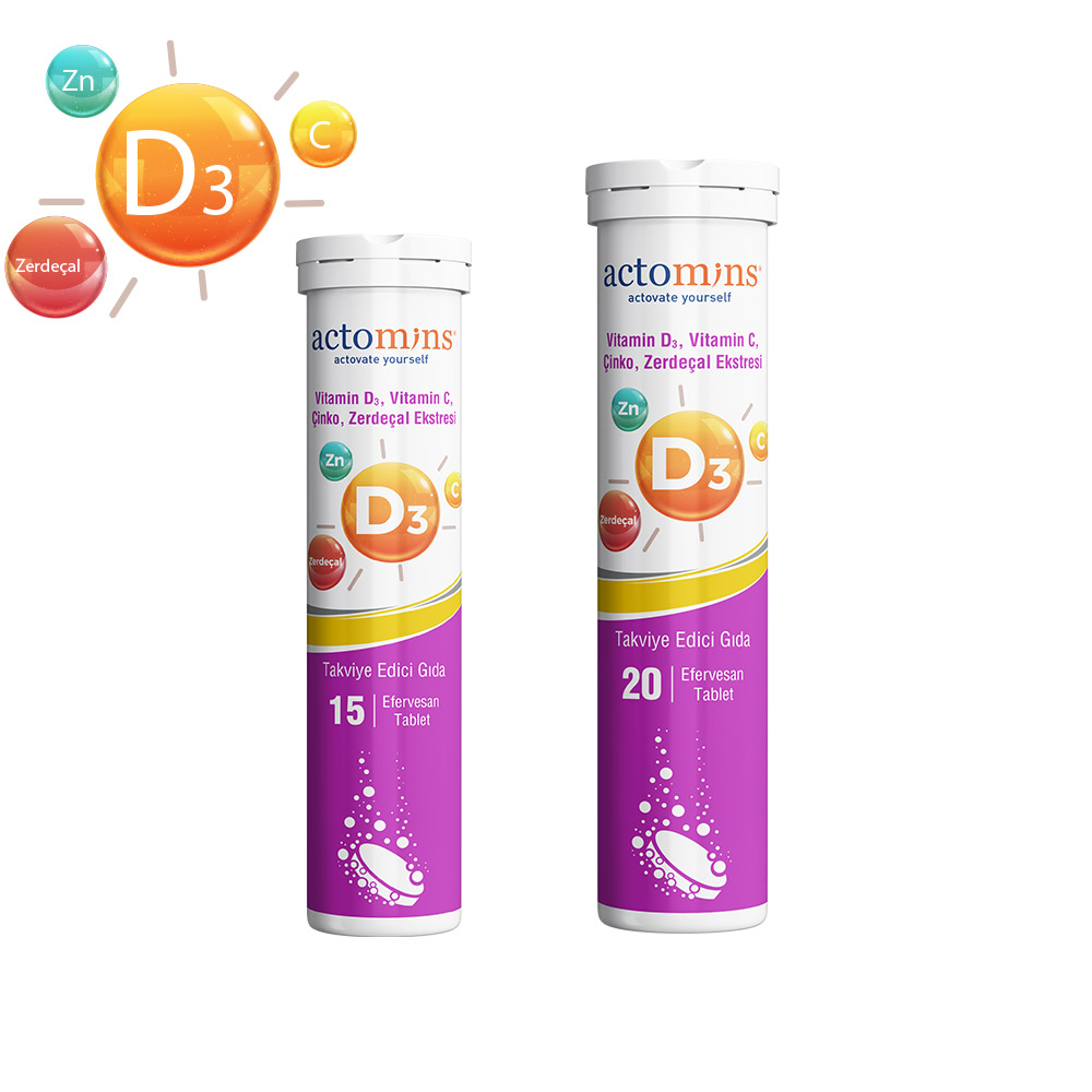Actomins Vitamin D3