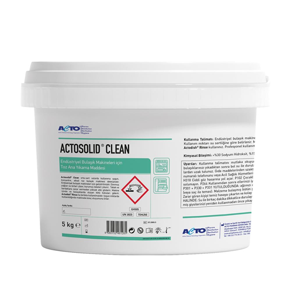 Actosolid Clean 5 kg